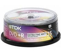 Диск TDK DVD+R 4.7Gb 16x Printable