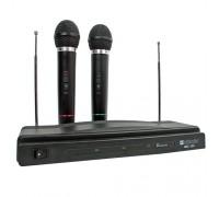 Набор 2 беспроводных микрофона Defender MIC-155 для караоке дистанция до 15м