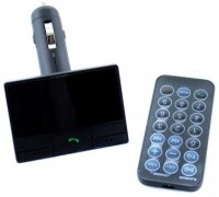 Автомобильный FM-модулятор FM-S31BT Bluetooth/USB черный гар.1 мес.