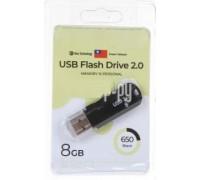 Флеш-накопитель Exployd 8GB USB2.0 650 (черный)